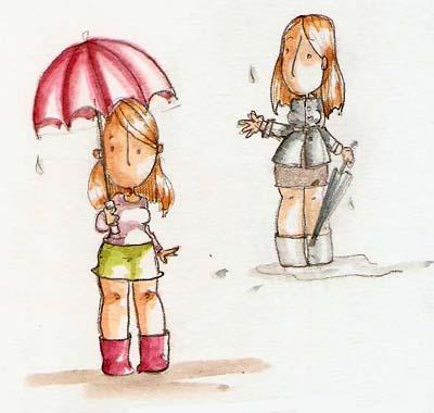 aujourd'hui c'est jour de pluie dans Ah que c'est drole jour-de-pluie