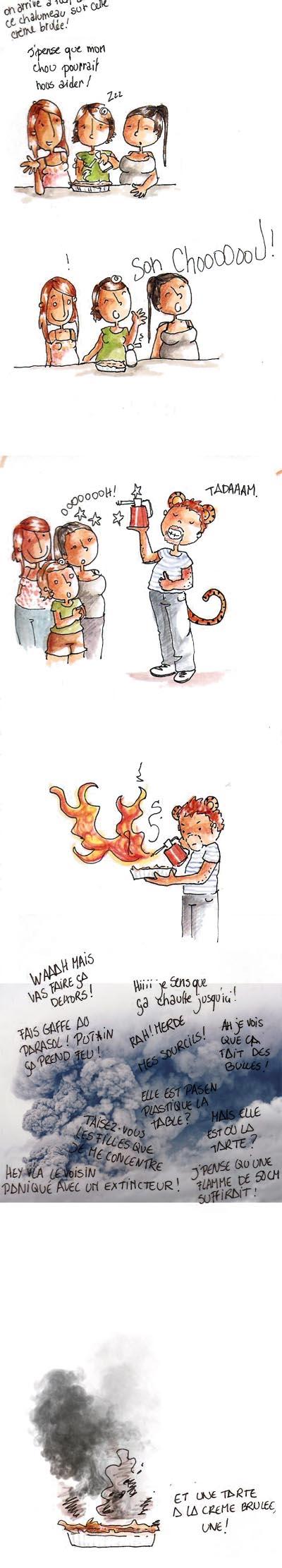 Recette de Tarte à la crème brûlée dans Ah que c'est drole 20121119-creme-brulee-1